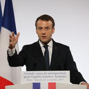 法國總統推動性別新政