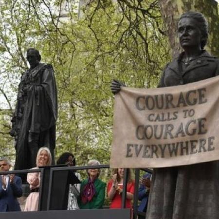 英國國會廣場設立首座女性銅像