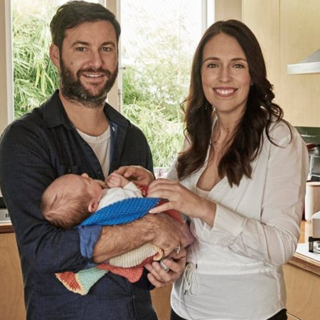 New Zealand's prime minister is the first world leader on maternity leave