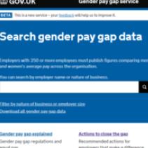 英國宣布國內 250 人以上大公司均完成公布性別薪資差距資料