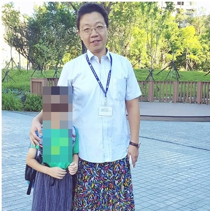 Principal of Elematary School wear skirts to support a  children's book about LGBTI