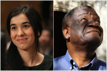 Nobel Peace Prize 2018 awarded to Congolese doctor Denis Mukwege and Yazidi campaigner Nadia Murad for their work in fighting sexual violence