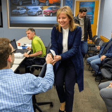 General Motors named world's top company for gender equality