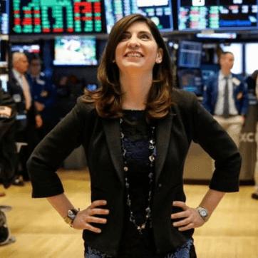紐約證券交易所出現 226 年歷史以來首位女性領導人