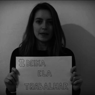 世足巴西女記者發起 #DeixaElaTrabalhar(#Letherwork)運動,抗議女性不受到尊重