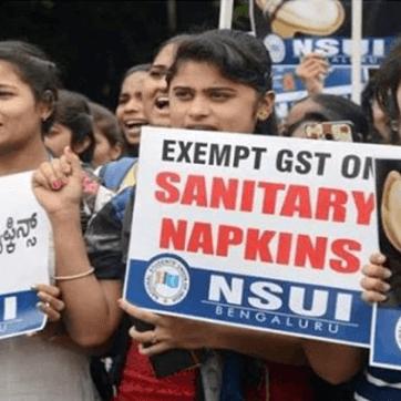 印度:40萬人連署後,印度將衛生棉從「奢侈品」降級成免稅的「必需品」
