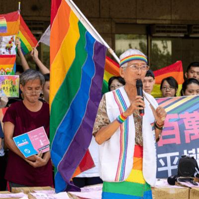 為反制反同團體而發起的平權公投,創下公投史上非政黨主導的最快連署紀錄。