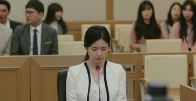 Korean TV Drama Miss Hammurabi reflects the imbalance of gender power in judicial system.