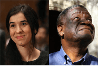 反對性暴力的剛果醫師穆克維格和人權鬥士穆拉德共同獲諾貝爾和平獎