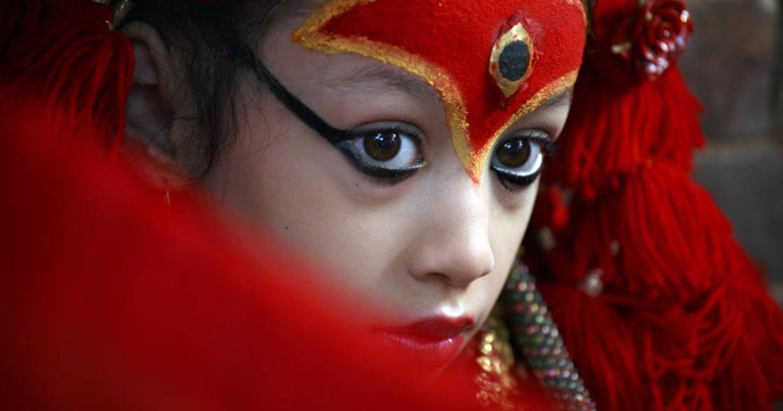 尼泊爾女神,被神遺棄的女孩