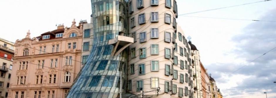 「會跳舞的房子」by 鬼才設計師 Gehry