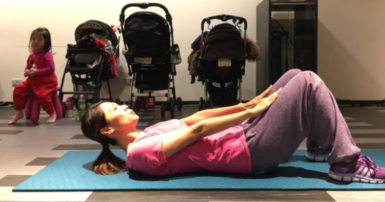 10 分鐘好時光!給懷孕初期孕媽咪的核心肌群運動