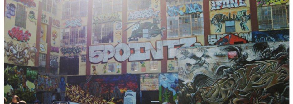 噴漆塗鴉次文化的小玄機 Graffiti 5pointz