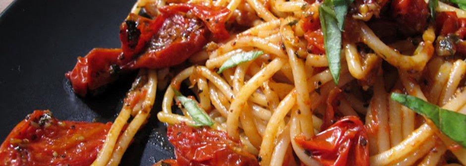 美味料理食譜:油封番茄義大利麵(三立樂生活節目推薦)
