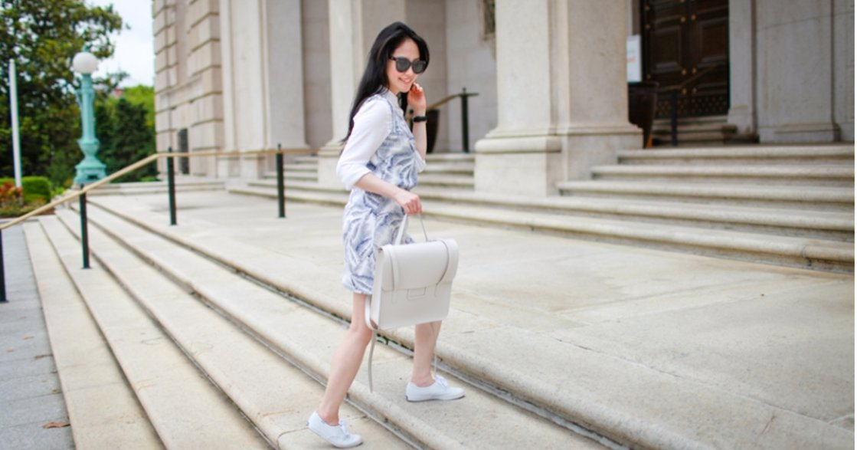 【穿搭筆記】一雙好走的小白鞋,帶你去所有想去的地方