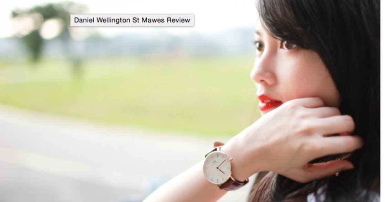 玫瑰金優雅與學院風大氣!不能只有一支的 DW 女錶
