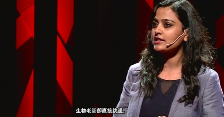 用經期百科改革印度!最溫柔的 TED 演講:「月經不是疾病,也不是詛咒」