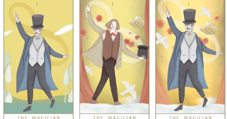 【塔羅插畫】魔術師牌:若有底氣,走到哪都是舞台