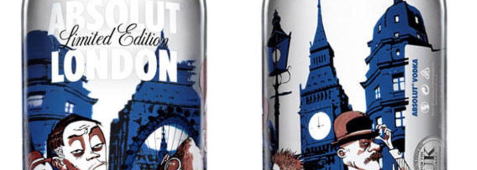 絕對倫敦!Absolut x Jamie Hewlett推出倫敦主題限量瓶