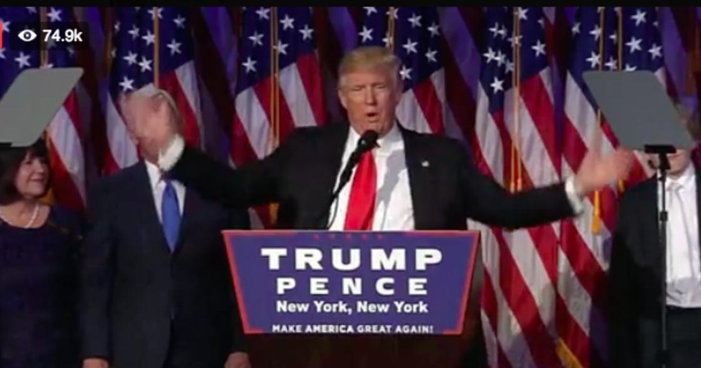 追求共識而不是製造分裂!美國第45任總統川普:「我會讓美國再次偉大」