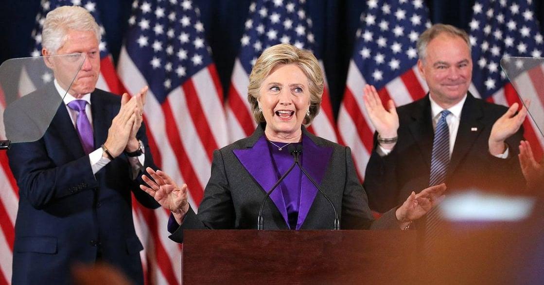 美國夢屬於所有人!希拉蕊敗選感言全文:總有一天,我們會撼動玻璃天花板