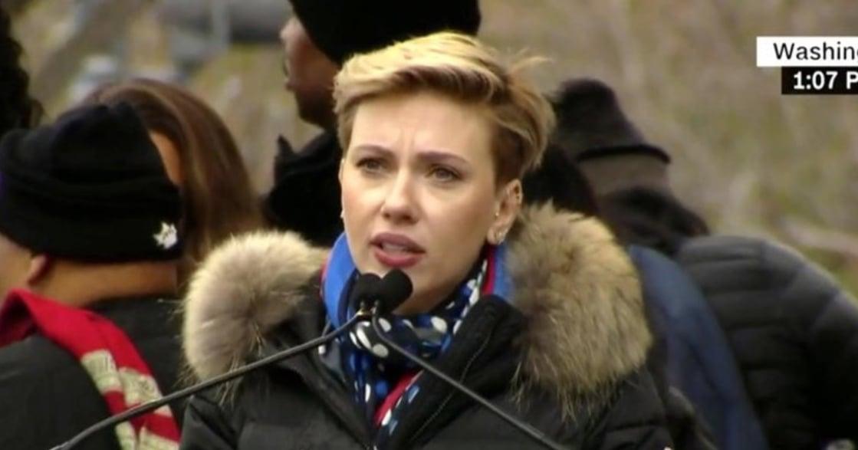 怒吼川普!史嘉蕾喬韓森女權演說:不是每個人,都像總統女兒有特權
