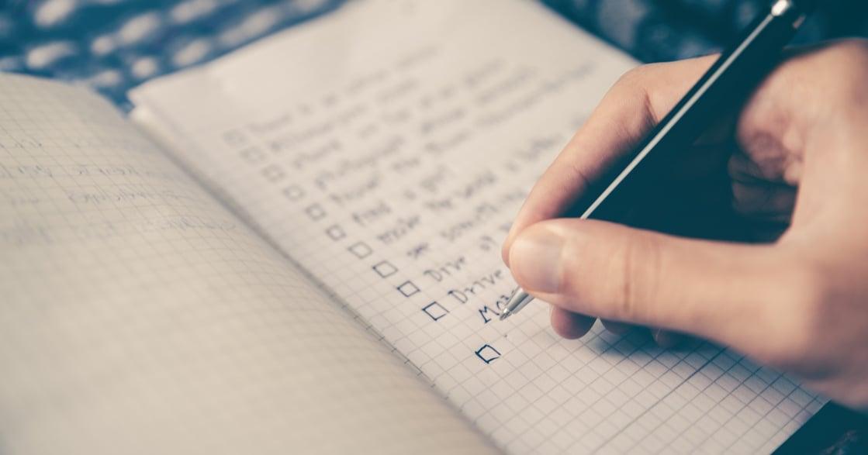正向思考練習:替自己準備一本好事筆記