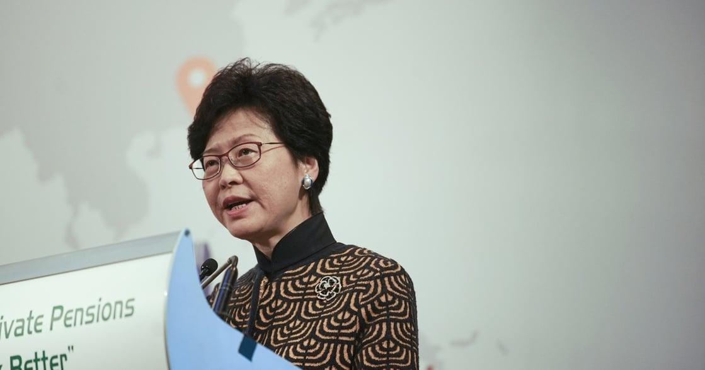 【視野重訊】香港首位女首長林鄭月娥:對不起老公,你要為香港市民繼續犧牲