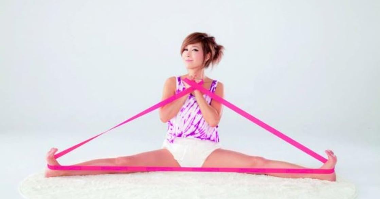 夏日清爽健身提案:用彈力帶強化核心肌群