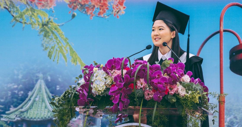 台大畢業生代表致詞:堅強起來,才不會丟失溫柔
