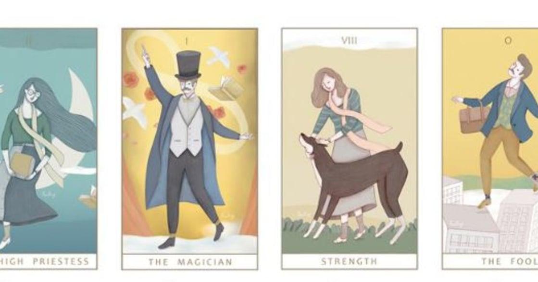 【塔羅插畫】親愛的畢業生,為你的迷惘抽一張牌