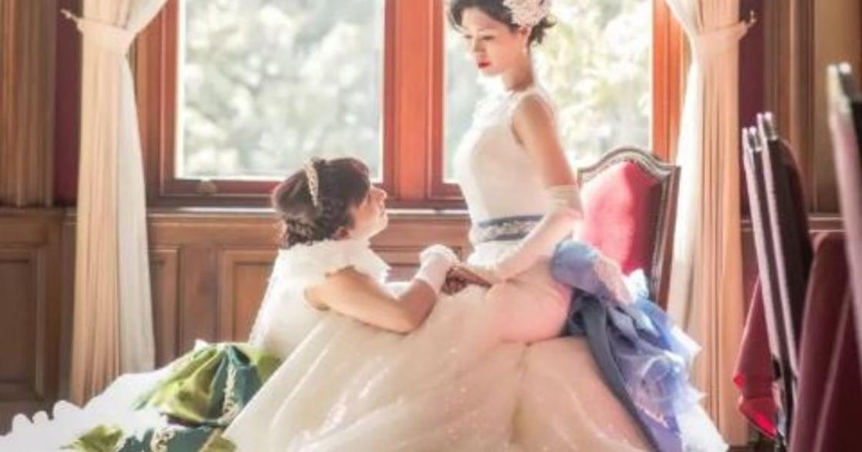 日本女同志的迪士尼婚禮:你是我的艾莎,我是你的安娜