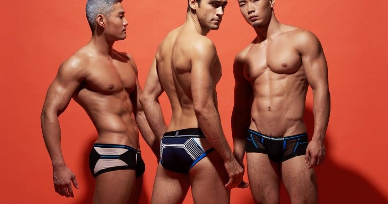 一件有質感的性感男性內褲,替你說明了很多事