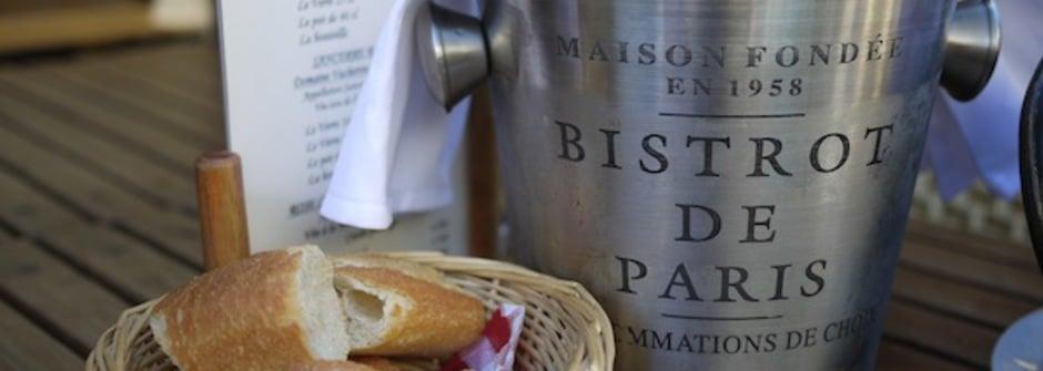 巴黎古董跳蚤市場裡的小餐廳