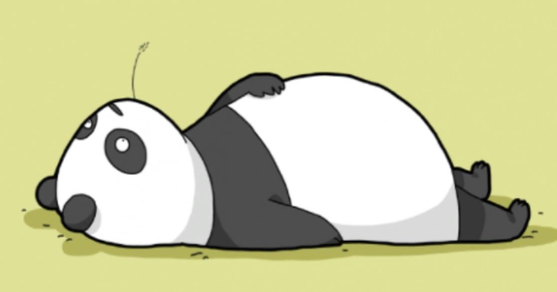 超療癒的小動物插畫集:「任何事都能像變胖一樣簡單就好了」