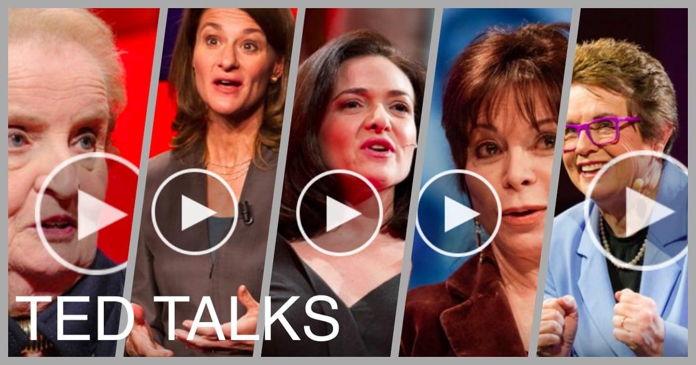 何必玩男人的遊戲規則?五則 TED 演講,讓女人說她的故事