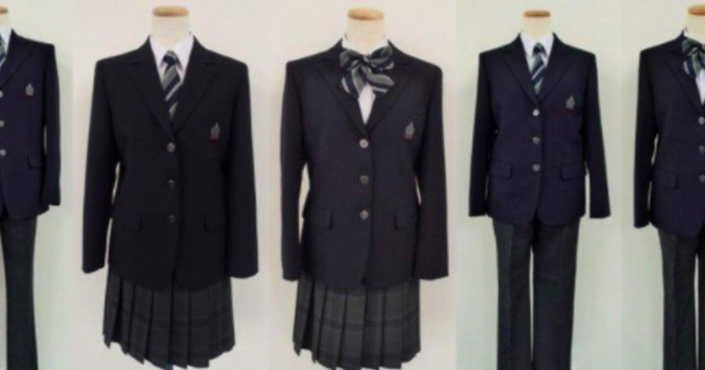 別再區分男用女用!日本公立國中,邀請學生自由選擇制服