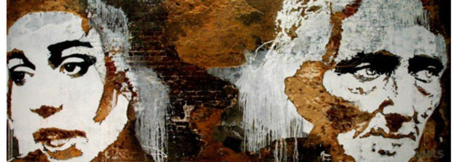 另類的街頭破壞藝術:殘壁刻畫