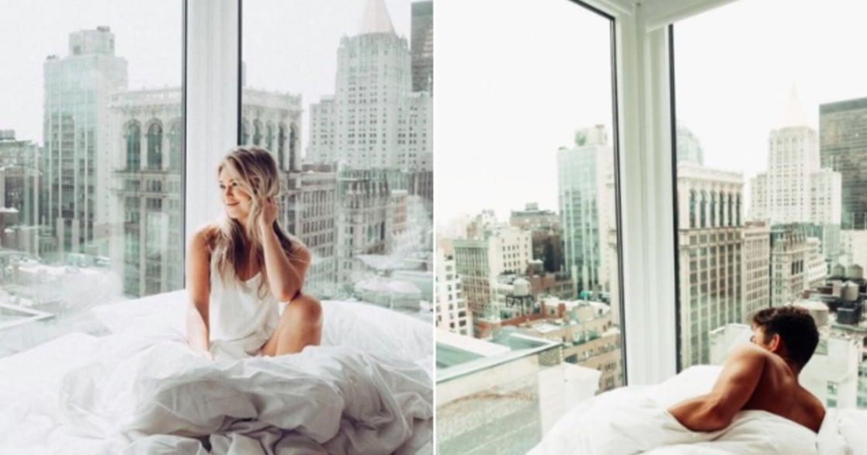 坐看夜景與晨曦!香港、日本、紐約的絕美「落地窗房間」
