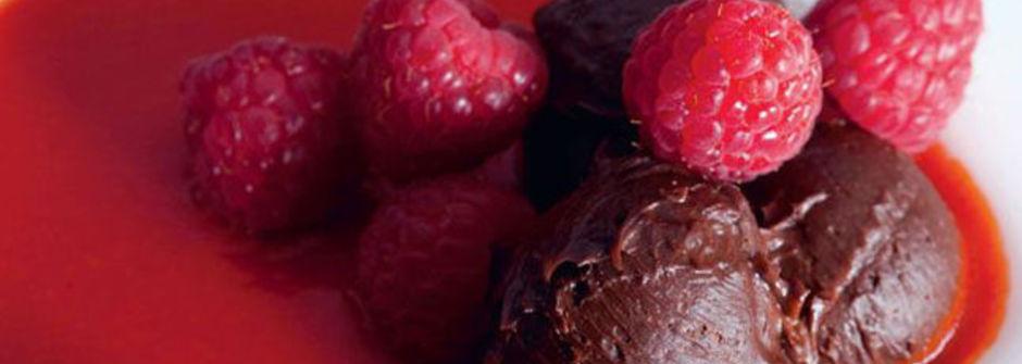 美味料理食譜:覆盆子甜椒奶霜巧克力