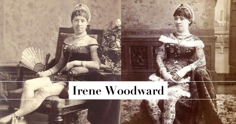 艾琳.伍德沃——第一位藉由展示刺青謀生的女性
