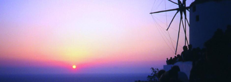 最美的海上落日-伊亞