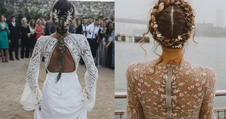 碎花、珍珠、礦石!六種透明系新娘頭飾