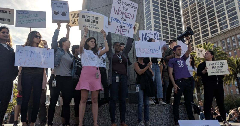 D&I 策略間|「我不在位置上,就在抗議性騷擾路上」Google 日本到加州發動罷工