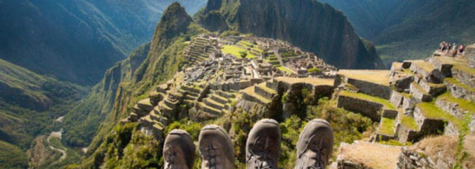 行遍萬里路的「旅行腳」攝影集