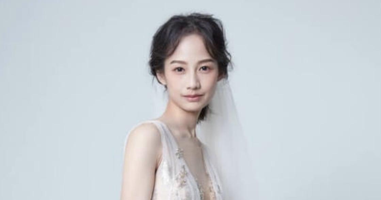 簡嫚書的婚紗告白:「從認識第一天,到一起變老」