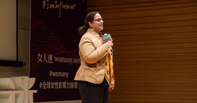 現場直擊|2018 全球女性影響力論壇 Keynote:難不難不重要,重點是敢不敢