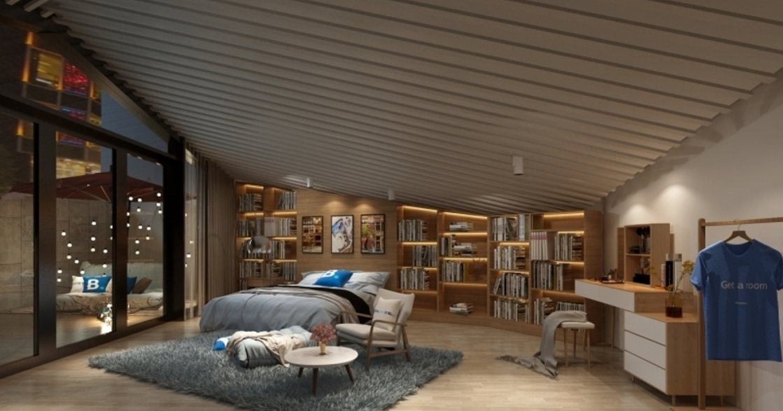 想睡在書店?亞洲首間「快閃書屋」概念客房
