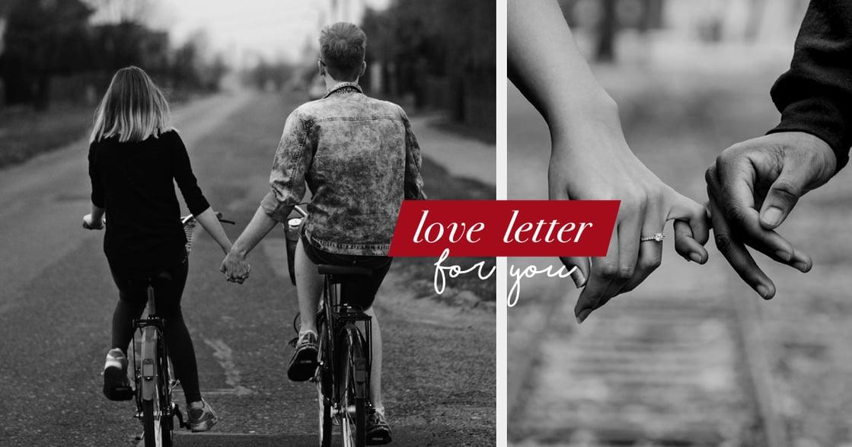 給伴侶的一封信:我希望我們的愛,帶我們去更好的地方