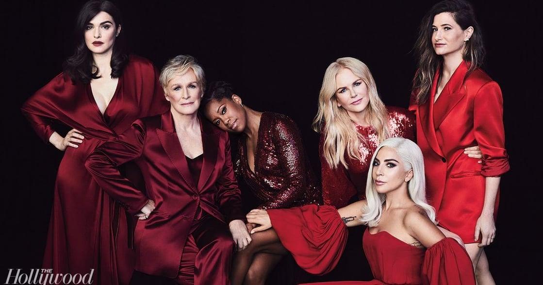 女神卡卡、妮可基嫚同台對話!2018 好萊塢女星圓桌會議:脆弱,讓我們堅強有力